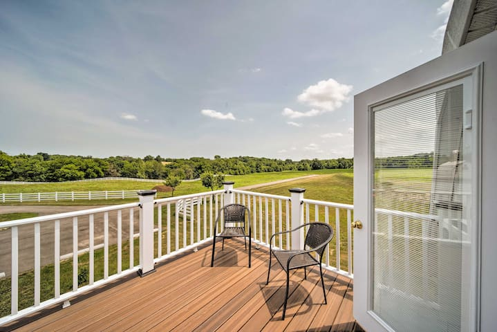 Updated Berger Cottage w/ Pool, on a Private Farm!