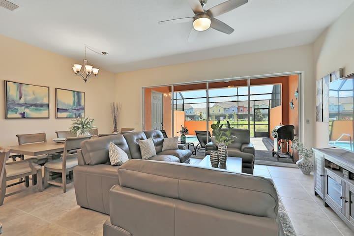 Spectacular home w/ pool near Disney! We're open!!
