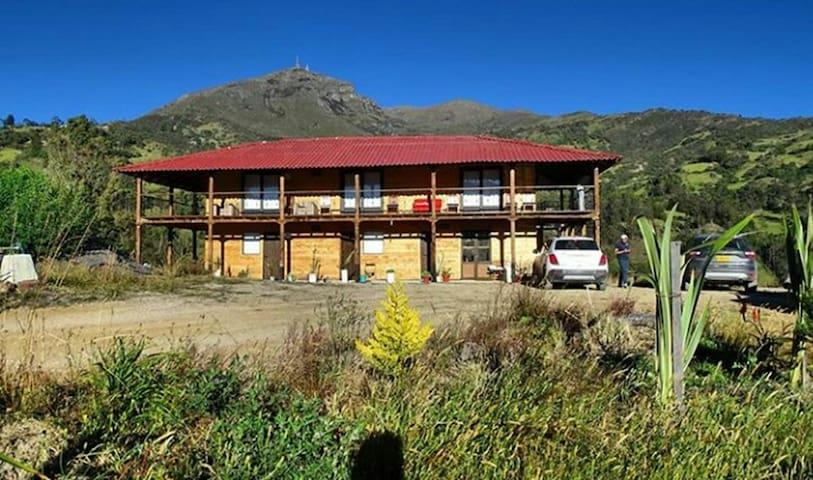 Despierta viendo la Sierra Nevada de El Cocuy