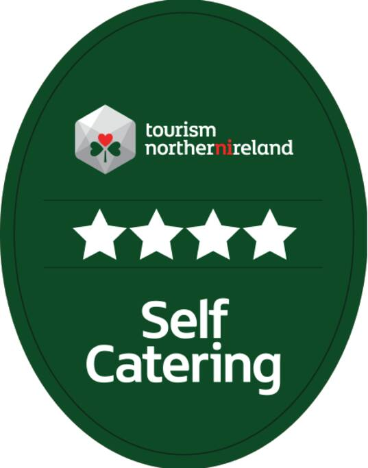 Oct '15. We've been awarded 4 Stars by Tourism Northern Ireland.