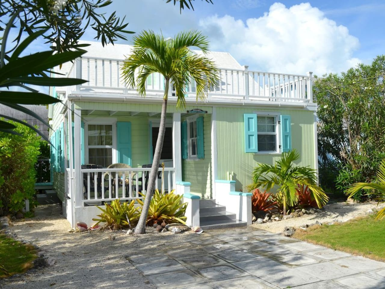 Traditional Bahamian Cottage!