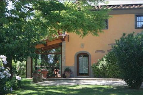 Casa rural toscana con piscina - Stalla