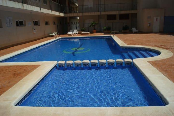 Apartamento a 300m de las playas de Bolnuevo - Murcia - Byt