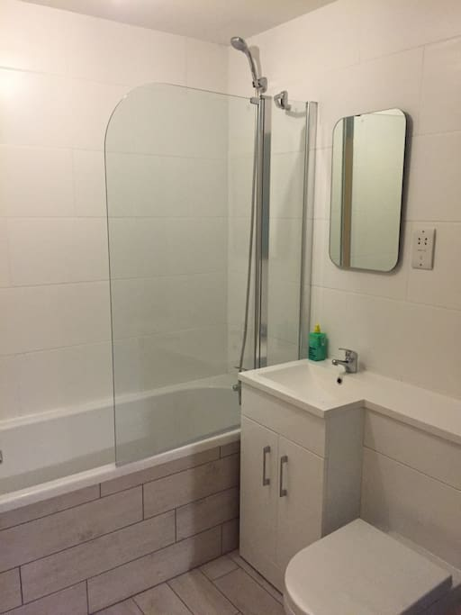Enjoy a shower or a bath in your private bathroom.