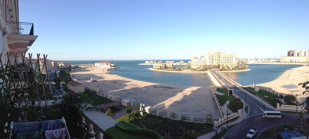 Qanat Quartier Pearl Qatar - Doha - Apartment