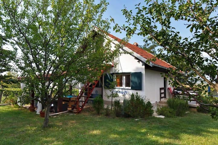 Two bedroom house with terrace Kričke, Zagora (K-16869)