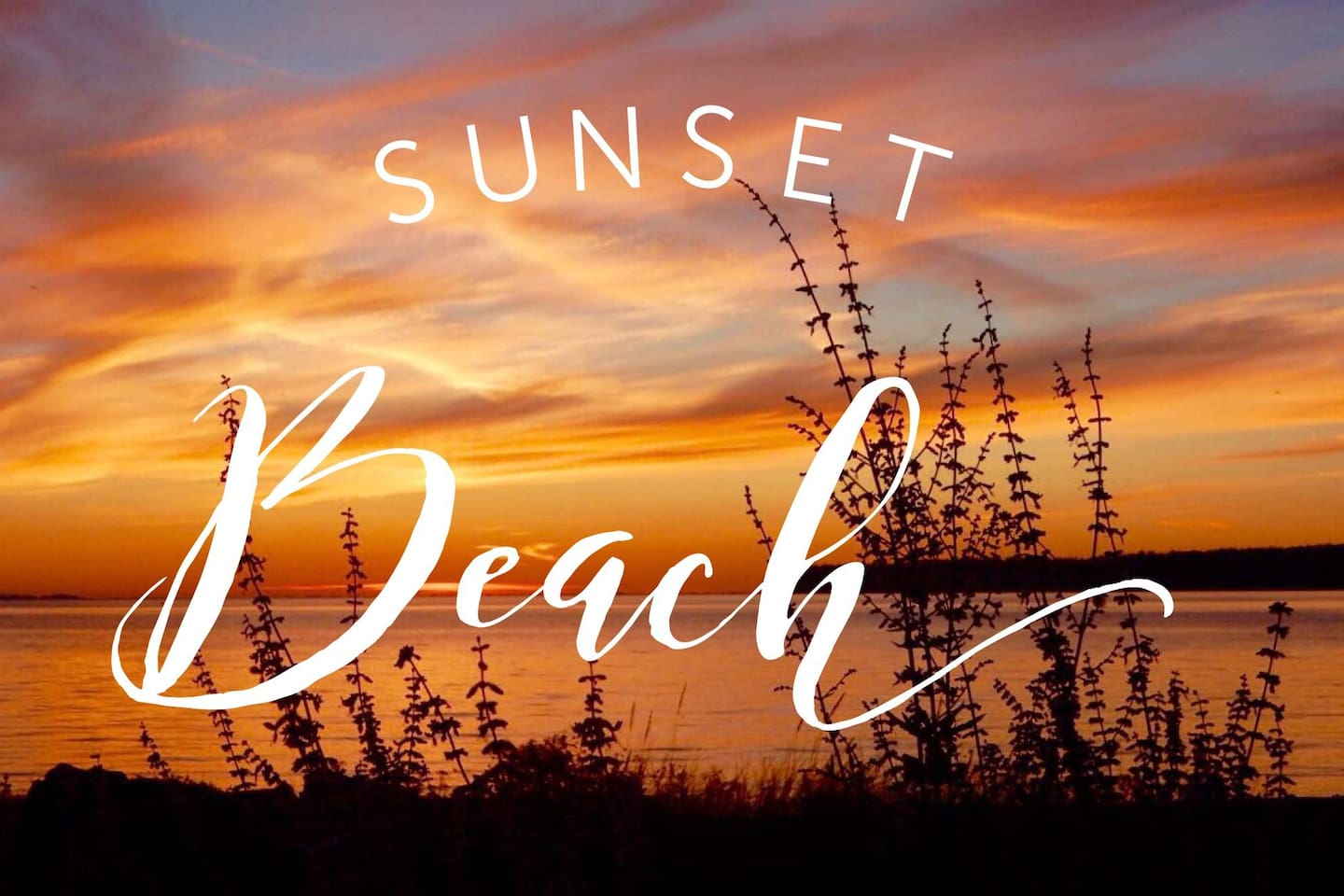 A sunset every evening is what inspired our name