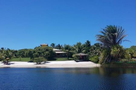 Casa a beira lago - surpreendente - Porto de Sauipe - Rumah