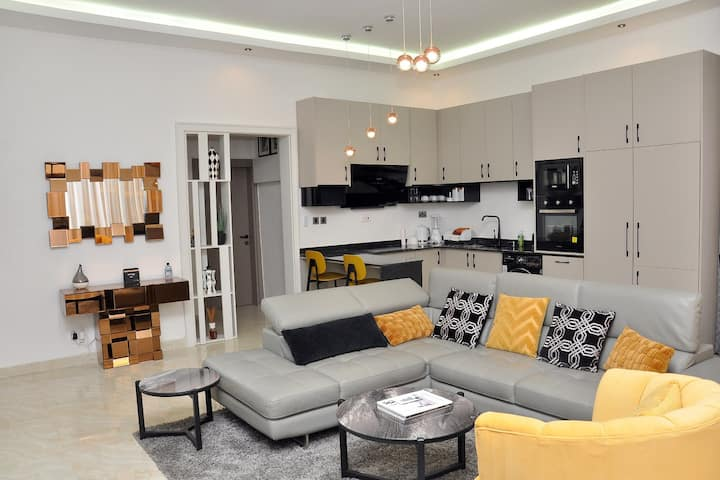 The Golden Blue Two Bedroom Apartment