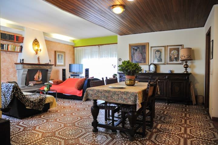 Casa sulla via Francigena