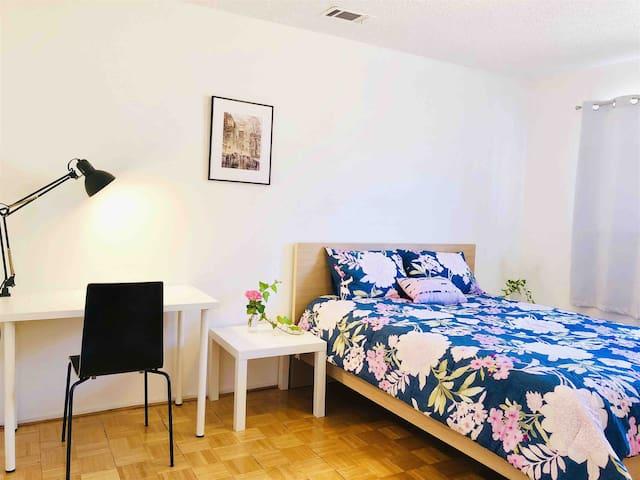 温馨雅房Quiet & Cozy private room ,Rosemead Park近商圈公园