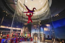 IFly, 10 minutes away