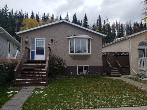 Spacious Basement Level, Only 45min to Jasper!