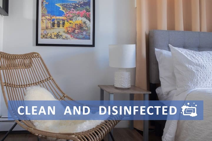 ★ Sunny & Modern ★ Cleaned professionally