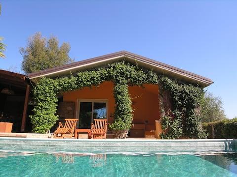 Villa with a pool in Passo Corese, near Rome