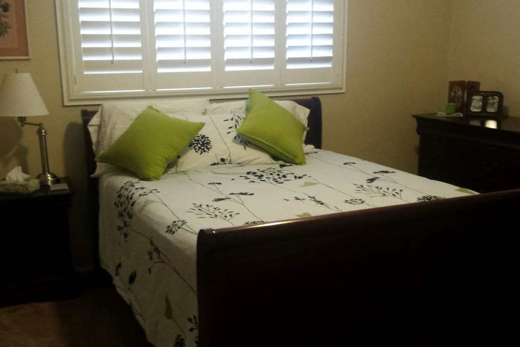 Private Bedroom - (very comfortable bed)