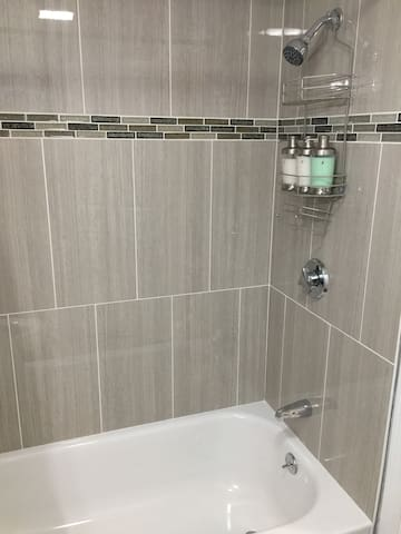 Just renovated bathroom - clean and modern
