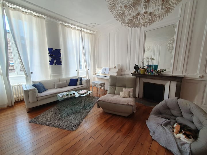 Chambres dans appartement cosy  proche préfecture