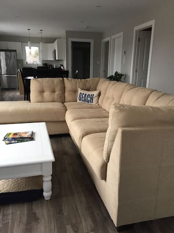 Main living area with sectional