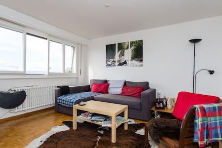 4ème étage style Loft et tranquille - Pully