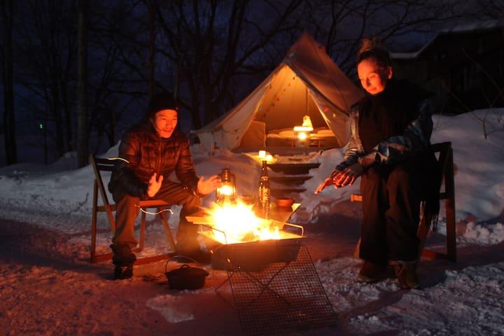 Niseko winter Outdoor stay Experience - Bongo