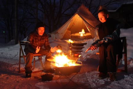 Niseko winter Outdoor stay Experience - Bongo