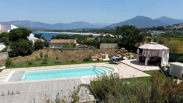 Luxury Villa in Porticcio with pool & big garden