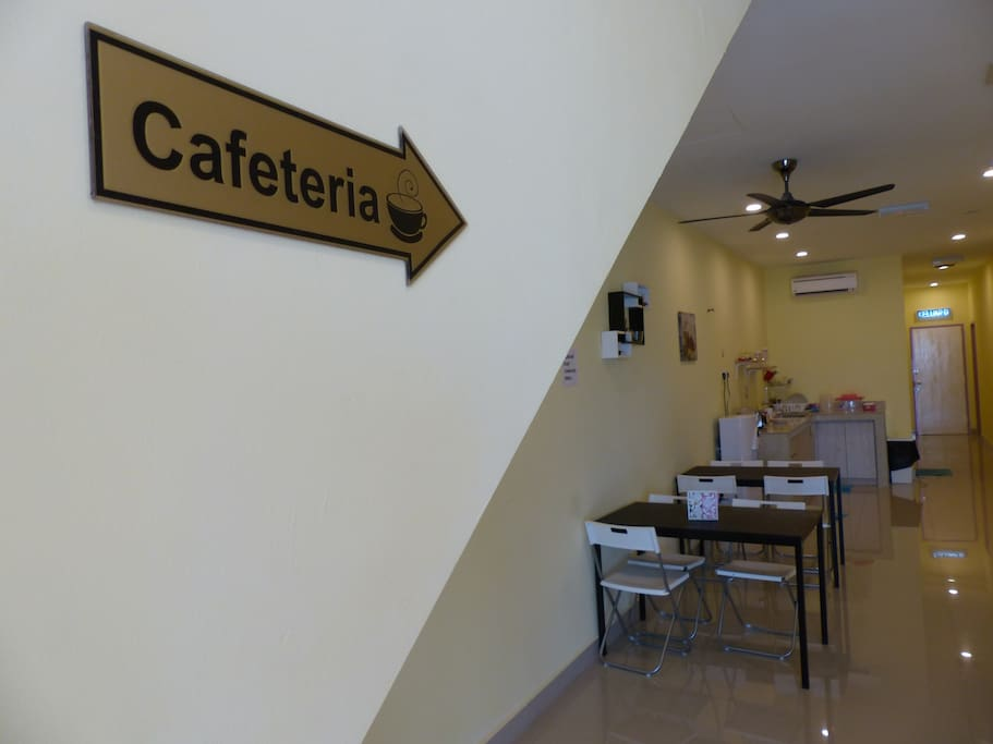 Cafeteria for your breakfast and chill out area