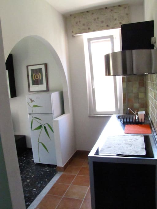 Appartamento denominato Monterosso. Cucina