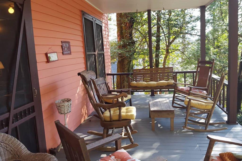 Front Porch Rockin!