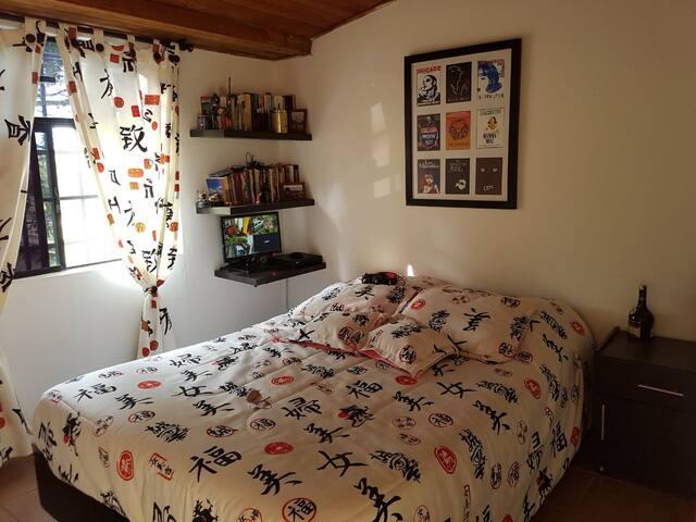 Comoda habitación acomodación doble.