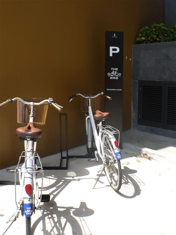Free Bikes to borrow