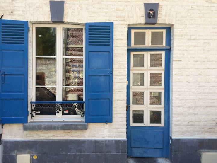 7, rue du Port, au cœur du Crotoy...