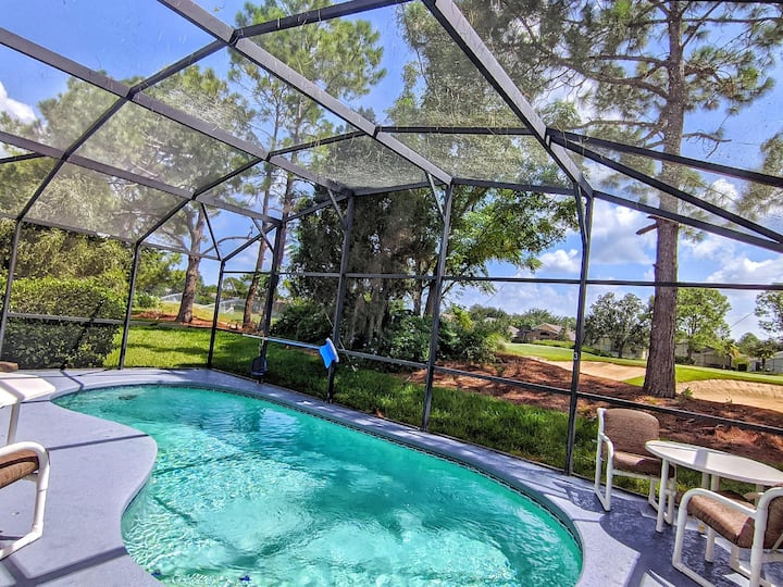 Updated Southern Dunes Pool Home on Golf Course