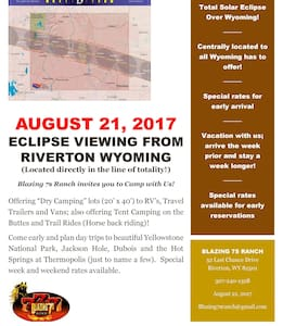Explore Wyoming from Blazing 7s Ranch-Campsite - Riverton - Lain-lain