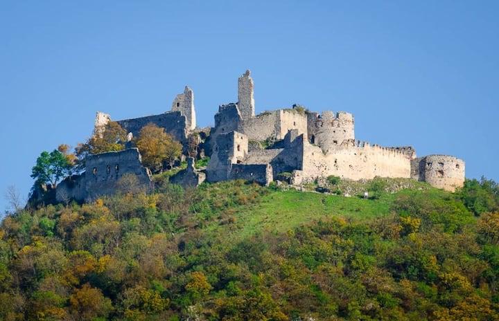 Ubytovanie pre milovníkov turistiky pod hradom