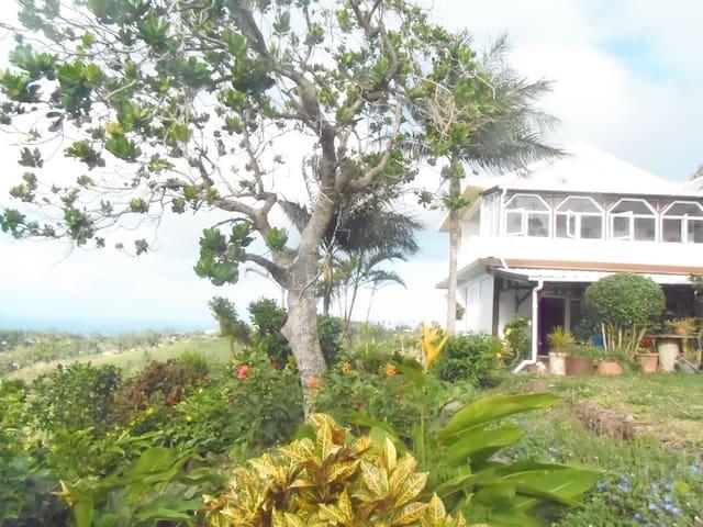 Repos et  tranquillité à La Collinière à Rodrigues