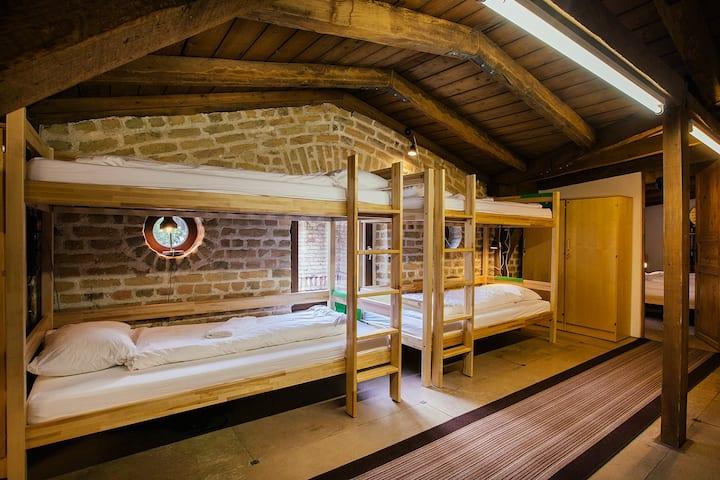 Hostel Riga private LOFT 20 beds room