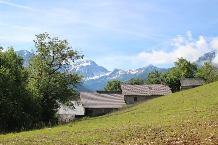 Première partie du hameau