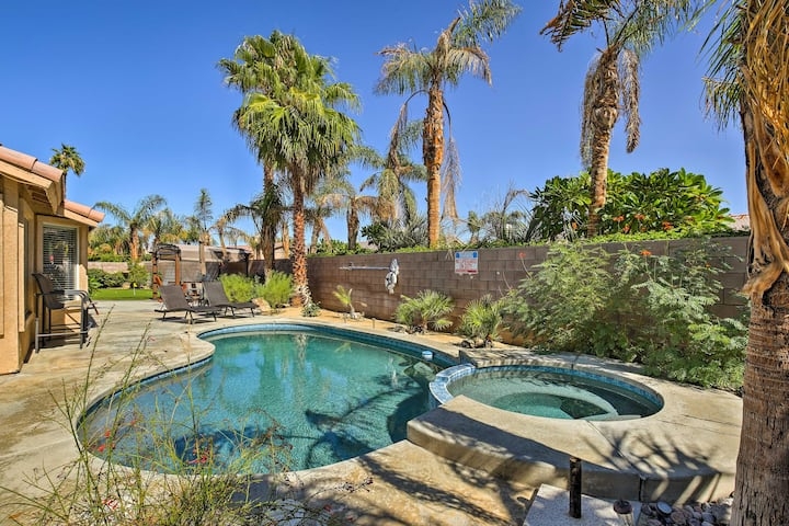 Private Desert Oasis w/ Pool, Spa & Golf Course!
