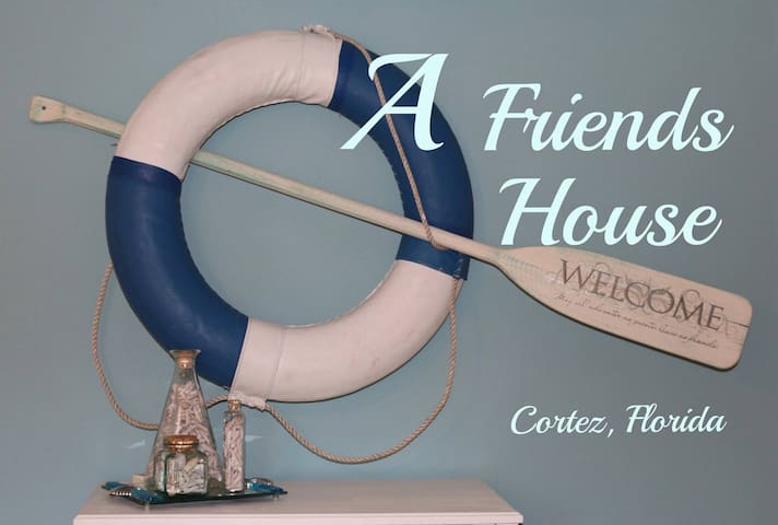 Come and stay at A Friends House!!! - Bradenton - Huis