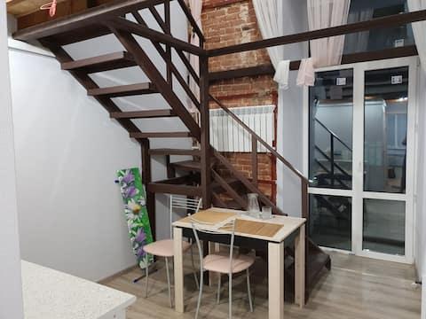 Лофт-апартаменты  с балконом в сердце Ростова