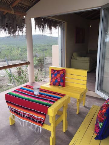Beach house 2br 1bath , palapa roof - El Pescadero - House