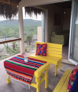 Beach house 2br 1bath , palapa roof - El Pescadero - Hus