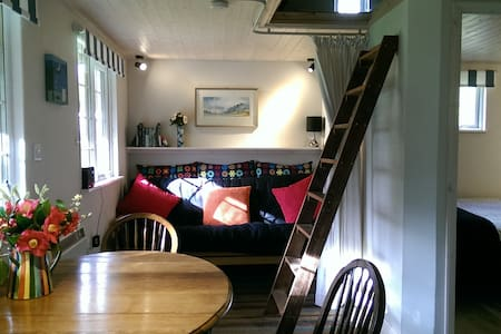 Secluded cosy cabin near town centre - Saint Austell - 통나무집
