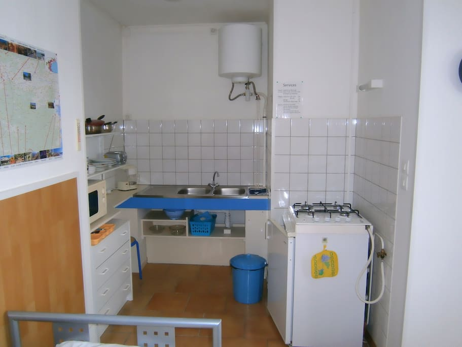 Studio meubl chambre garnie in cambieure occitanie for Chambre garnie