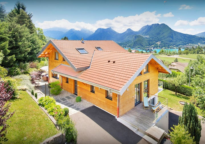 Discover lake and Alpine sports at this stunning villa - OVO Network