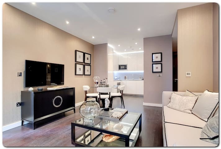 2 Double Bedroom Flat to let in Pancras Way
