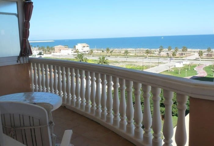 Apartament Daimuz beach pool sea view - Daimús - Apartament