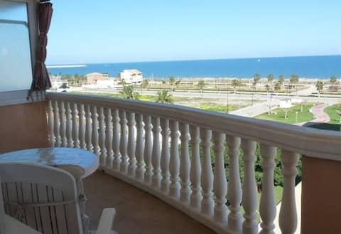 Apartament Daimuz beach pool sea view